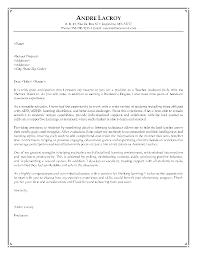 Cover Letter Template For Teacher Position - Letter Idea 2018