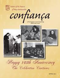 Confianca Magazine Spring 2011 By Joliet Franciscan