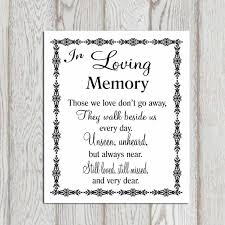 In Loving Memory Quotes Gorgeous In Loving Memory Quotes Impressive In Loving Memory Printable
