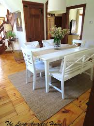Dining Room Tables With Bench Seating Gallery Of Cedar Table Set