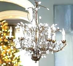 pottery barn clarissa chandelier