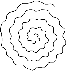 Squigly Spiral spiral paper flower template pictures to pin on pinterest pinsdaddy on spiral pattern template