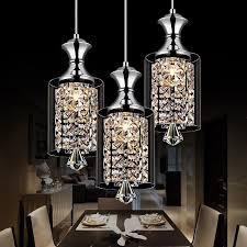 contemporary kitchen pendant chandelier modern pendant chandelier 15w led crystal pendant lamp