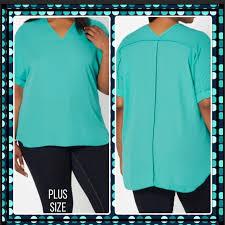 rue 21 plus size clothes rue21 tops plus size 3x mint green chiffon blouse poshmark