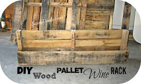 DIY How To Make A Wine or Magazine Rack Out of a Wood Pallet Step