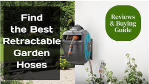 best retractable garden hoses reviews