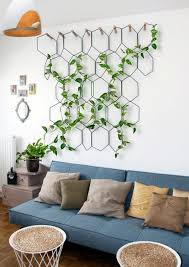 you will get loads of perfect wall hanging plant decor ideas but why not experiment a little with them the best way to decor home on a budget is after all