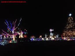 Napa Christmas Tree Lighting Christmas Lights Holiday Display At 878 El Centro Ave