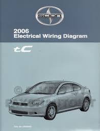 2006 scion tc wiring diagram manual original 2006sciontcewd jpg