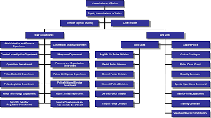 77 Thorough Police Department Hierarchy Chart