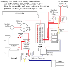 wiring diagram electric winch wiring diagrams and schematics ramsey winch solenoid wiring diagram 10 easy set up