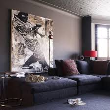 cool living rooms. living room with oversized cool artwork rooms