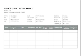 Simple Stock Control Spreadsheet Inventory Template For Excel Stock