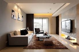 Narrow Living Room Ideas Grey Long Sofa With Cushions Decor Golden Wood  Long Dining Table The