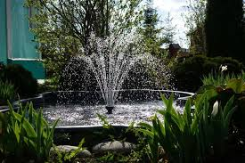 water feature work in a small garden