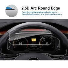 RUIYA ekran koruyucu için Roc 10.3 inç 2017 2018 araba LCD gösterge paneli  ekran oto iç aksesuarları korumak|Screen Protectors