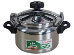 Nồi áp suất cơ Nagakawa NAG1441 (4 Lít) - Làm bằng hợp kim nhôm cao cấp  siêu bền - Hàng chính hãng - META.vn