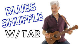 Blues Shuffle In A Guitarlele Tutorial With Tab