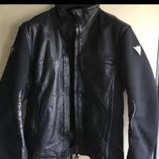 dainese gladiator motorcycle half leather jacket eu48 men s fashion clothes on carou