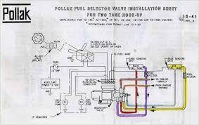 pollak fuel tank selector valve wiring diagram inspirational 7 way pollak switch wiring diagram at Pollak Wiring Diagram