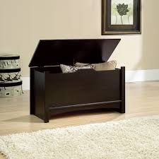 Sauder Bedroom Furniture Sauder Shoal Creek Jamocha Wood Storage Chest 412092