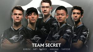 team secret player intro the international 2017 dota 2 youtube