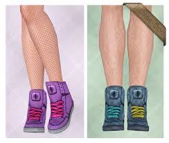 심즈3 청소년 신발] Zika Sneakers for Teens by Juliana Sims : 네이버 블로그