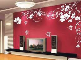 beautiful beautiful red wall decor for hall kitchen