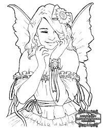 Small Picture Complex Fairy Coloring Pages Draw Background Complex Fairy