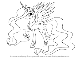 Kleurplaten My Little Pony Princess Cadence My Little Pony Coloring