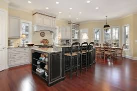 Hardwood Floors For Kitchens Cute Hardwood Floors In The Kitchen On Home Interior Design