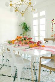 Pink Orange Fall Tablescape A Beautiful Mess