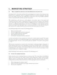 Business Plan Fill In Blank Market Survey New Of Template Free