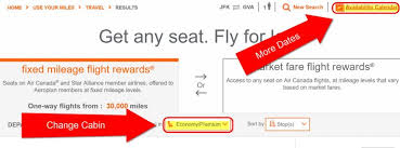 Aeroplan Fixed Mileage Chart Ultimate Guide To Air Canada Aeroplan Miles Part 3 Step