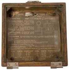 ge portable induction test meter type 1b5y Digital Electric Meter Ge Kilowatt Hour Meter Wiring Diagram #48