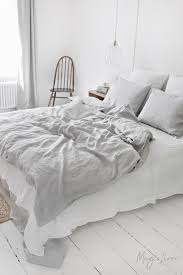 light grey linen duvet cover magiclinen