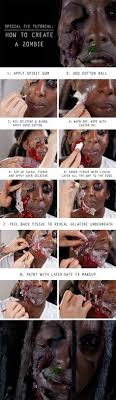 zombie fx makeup tutorials 12 zombie makeup tutorials that will make you look like the