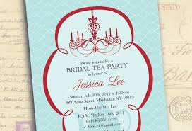 Bridal Shower Invitation Templates Enchanting Love The Light Teal Blue With Red Cardmaking Supplies