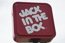 jack in the box fast food restaurant sign