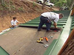 how do you install metal roofing on roof cost menards how to install steel roofing93