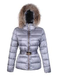 moncler angers fur hood quilted jacket light grey moncler polos moncler soho new york