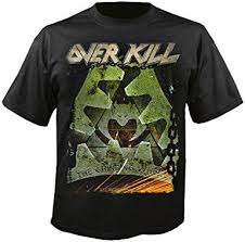 <b>Overkill - The Grinding</b> Wheel - T-Shirt: Amazon.co.uk: Clothing