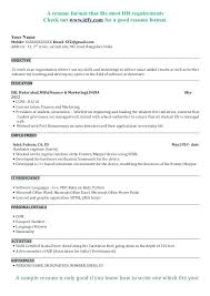 Mba Application Resume Examples Free Resume Template Evacassidyme Fascinating Mba Application Resume