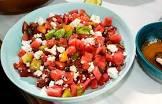 cherry tomato and watermelon salad