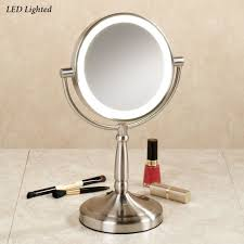 Cordless Led Lighted 10x Magnifying Vanity Mirror Led Lights Vanity Mirror