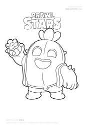 There is no voice line for this brawler. How To Draw Brawl Stars El Primo Star Drawing
