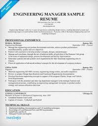 Engineering Manager Resume Examples 106 Best Robert Lewis Job