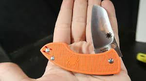 Spyderco Бугры пучения <b>складной нож</b> оранжевый Vox ...