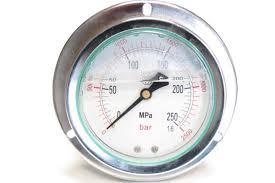 Контрольно измерительный инструмент и контрольно измерительные  dl cr14p2500 Манометр высокого давления 2500 бар