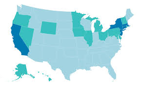 Teacher Pay In California Chart This Map Shows The Average Teacher Salary In Every State Money